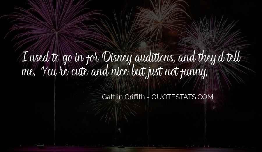 Quotes About Funny Auditions #1122754