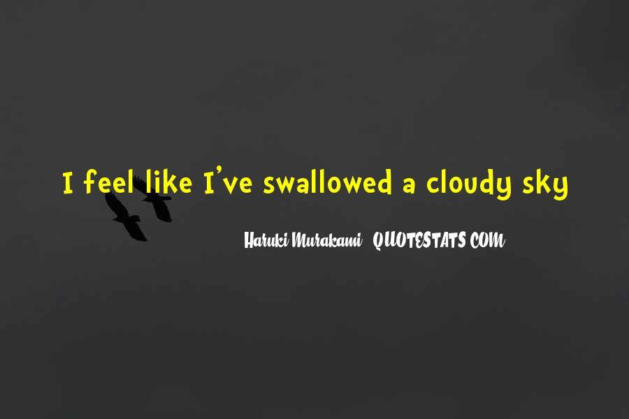 Haruki Murakami Sputnik Quotes #1113801