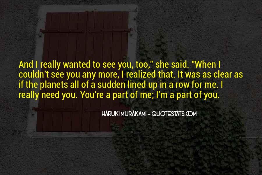 Haruki Murakami Sputnik Quotes #6231