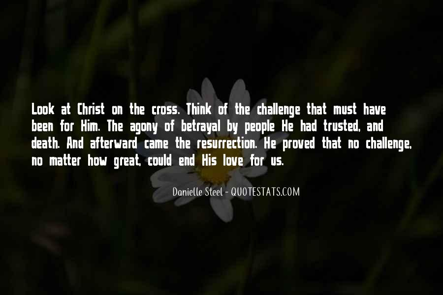 Quotes About The Cross And Resurrection #1286613