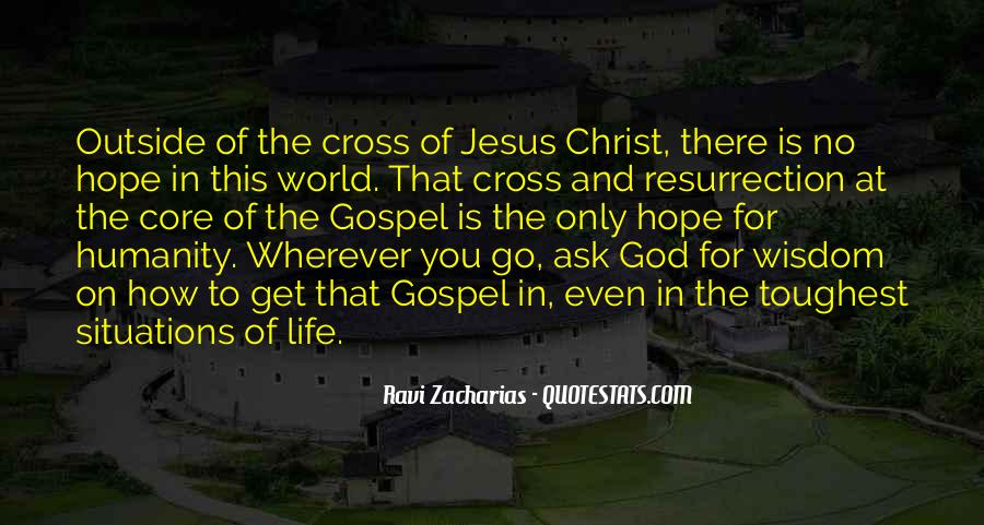 Quotes About The Cross And Resurrection #1550798