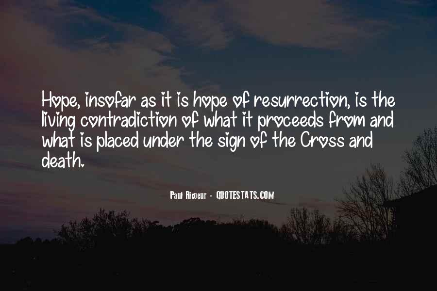 Quotes About The Cross And Resurrection #930185
