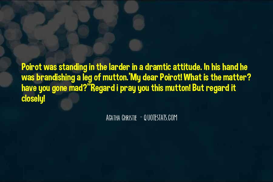 Hastings Poirot Quotes #1303001