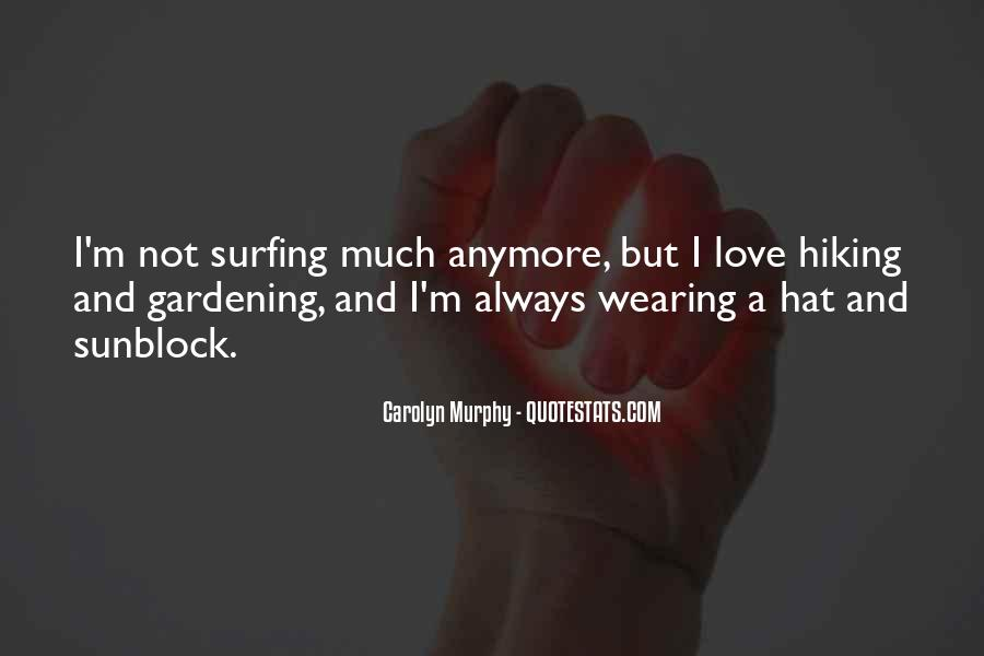Hat Wearing Quotes #1467099