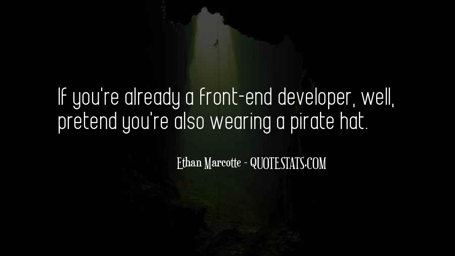 Hat Wearing Quotes #235507