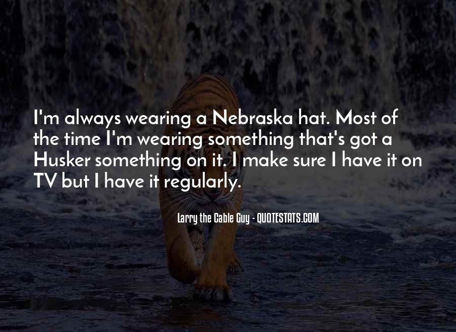 Hat Wearing Quotes #262513