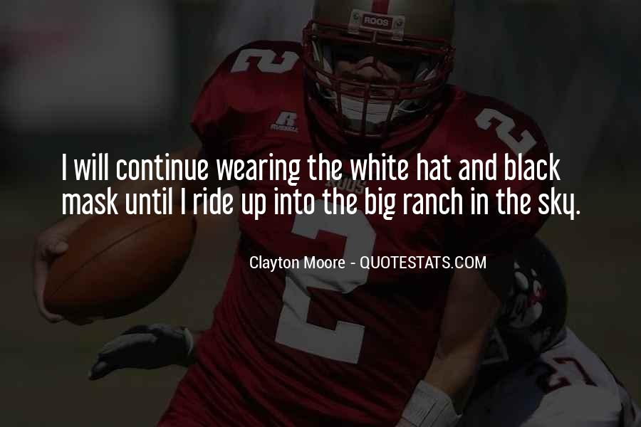 Hat Wearing Quotes #287297