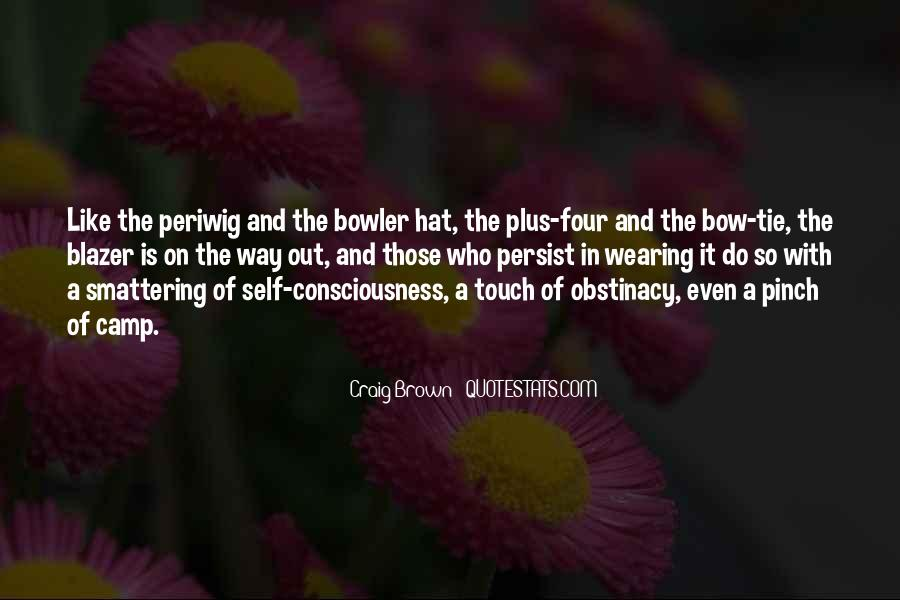 Hat Wearing Quotes #290181