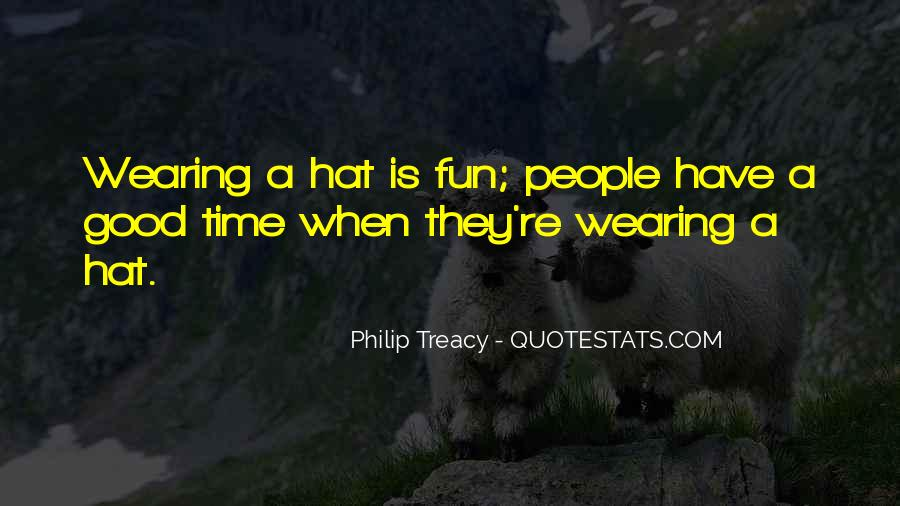 Hat Wearing Quotes #355080