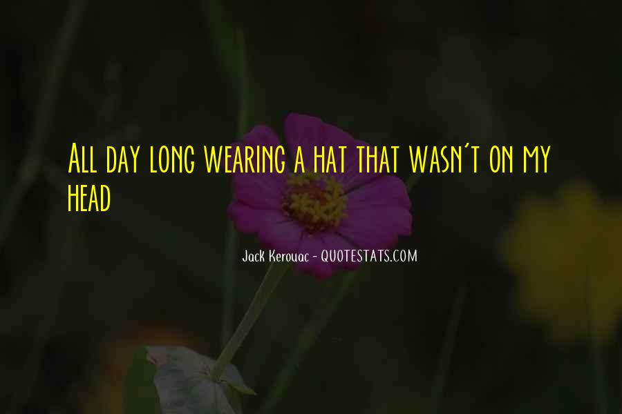 Hat Wearing Quotes #602412