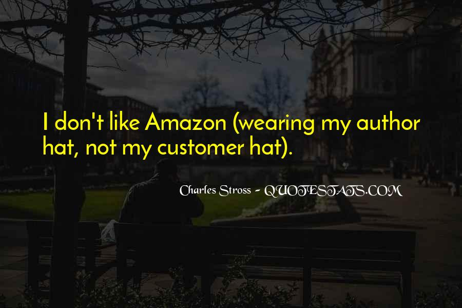 Hat Wearing Quotes #602796