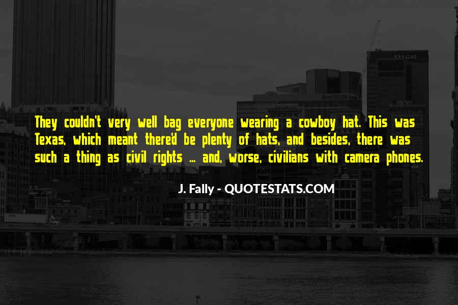 Hat Wearing Quotes #693416