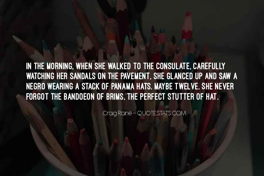 Hat Wearing Quotes #92631