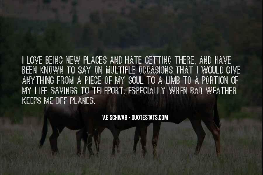 Hate Being Me Quotes #357586
