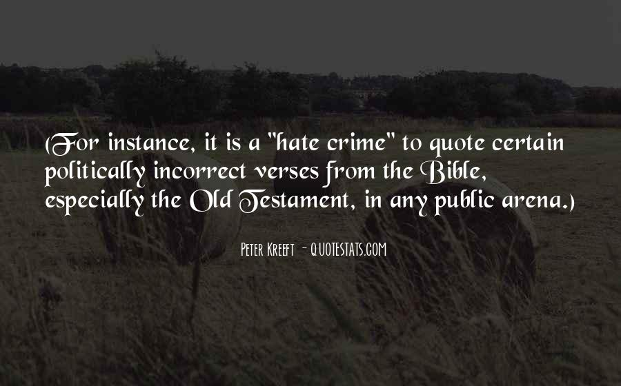 Hate Crime Quotes #1184413