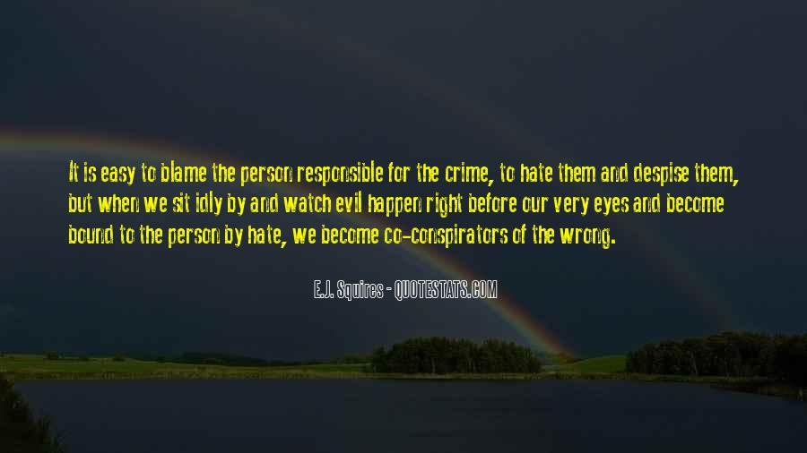 Hate Crime Quotes #1292294