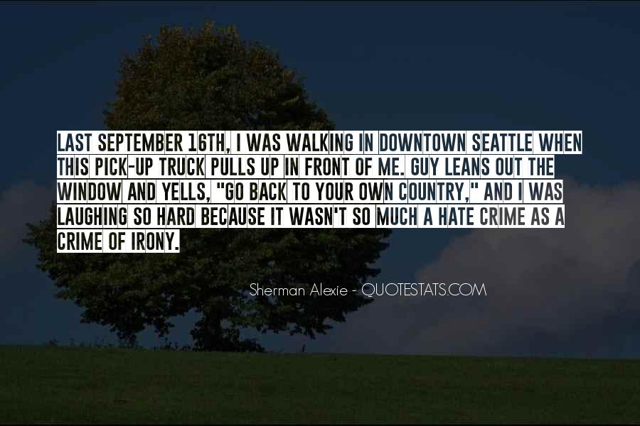 Hate Crime Quotes #134701