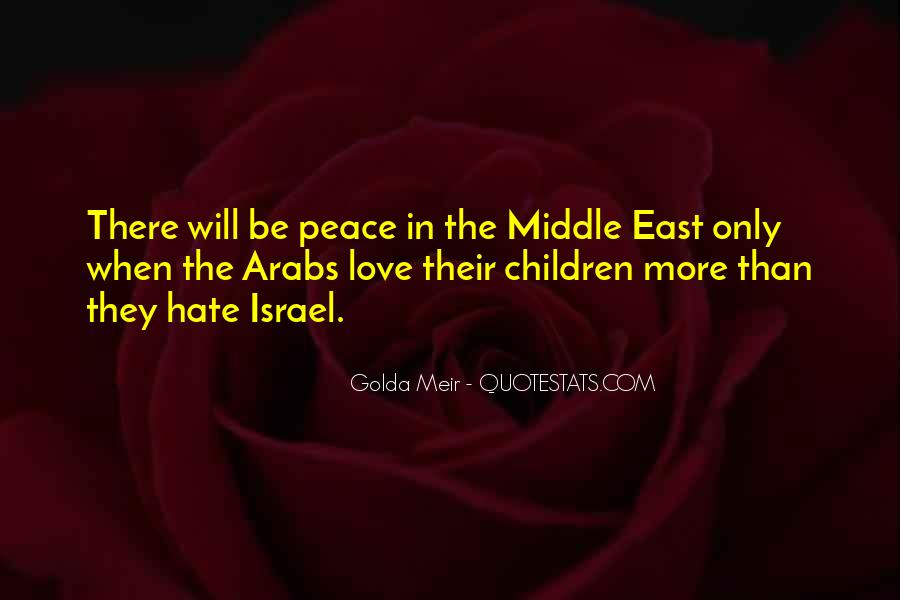Hate Israel Quotes #1107522