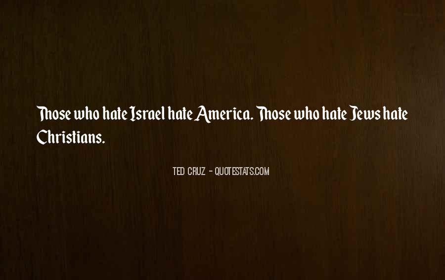 Hate Israel Quotes #1206273