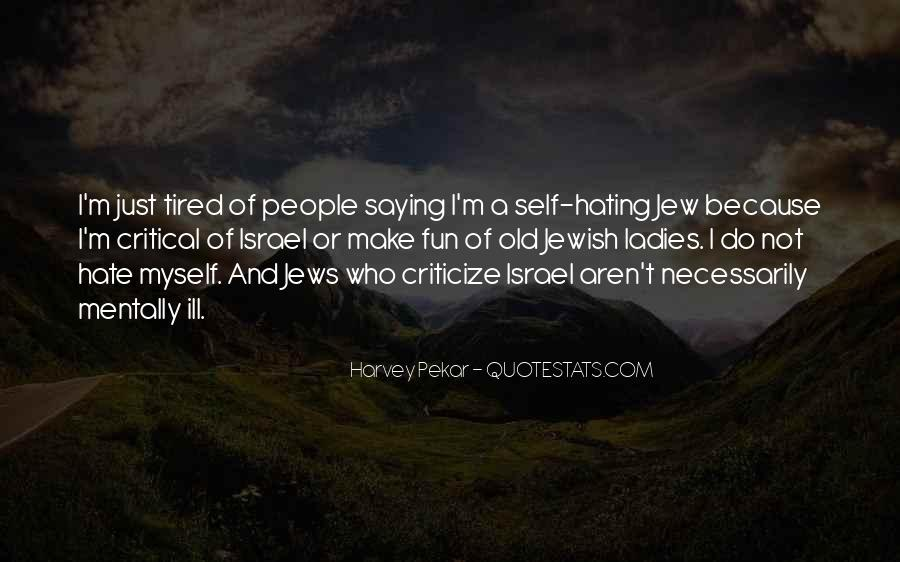 Hate Israel Quotes #1551301