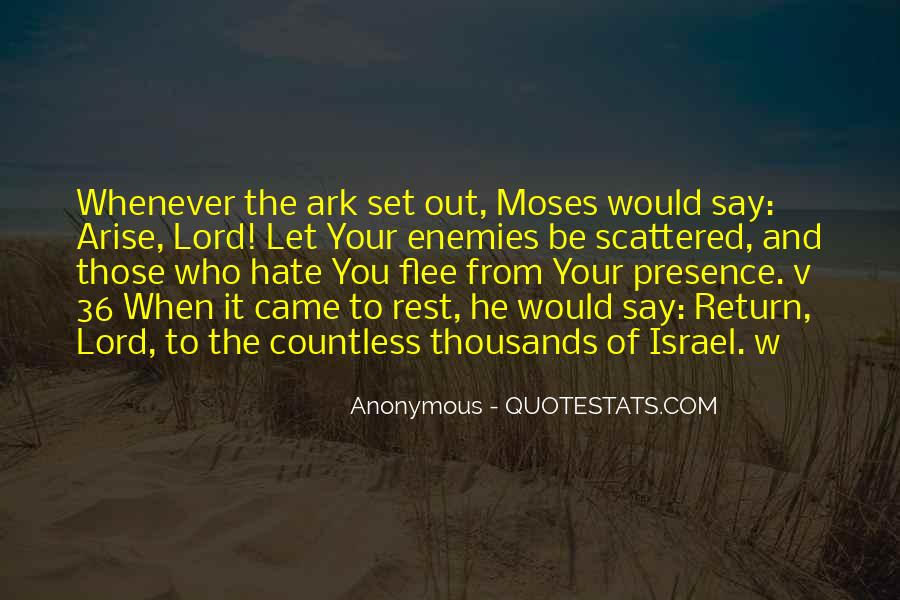 Hate Israel Quotes #1789594
