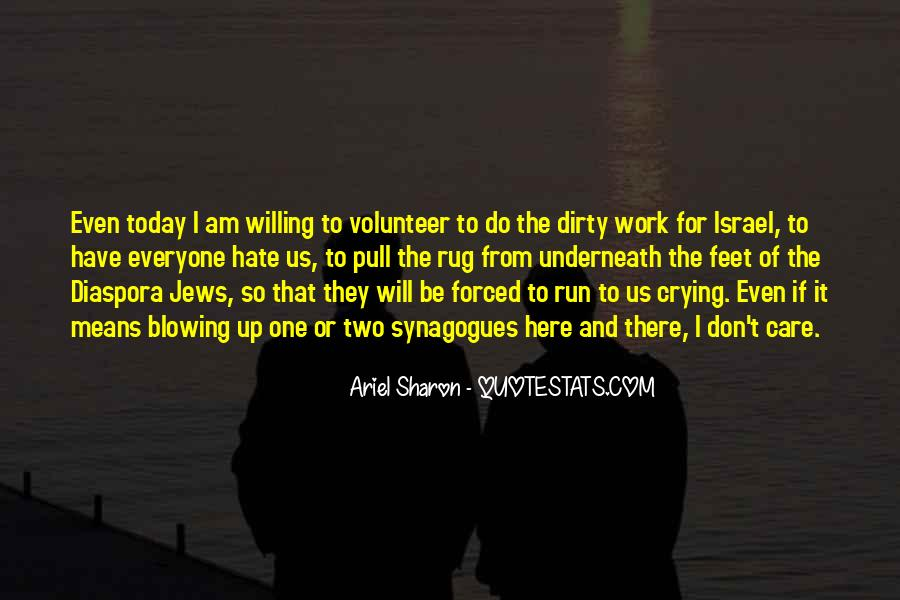 Hate Israel Quotes #412988