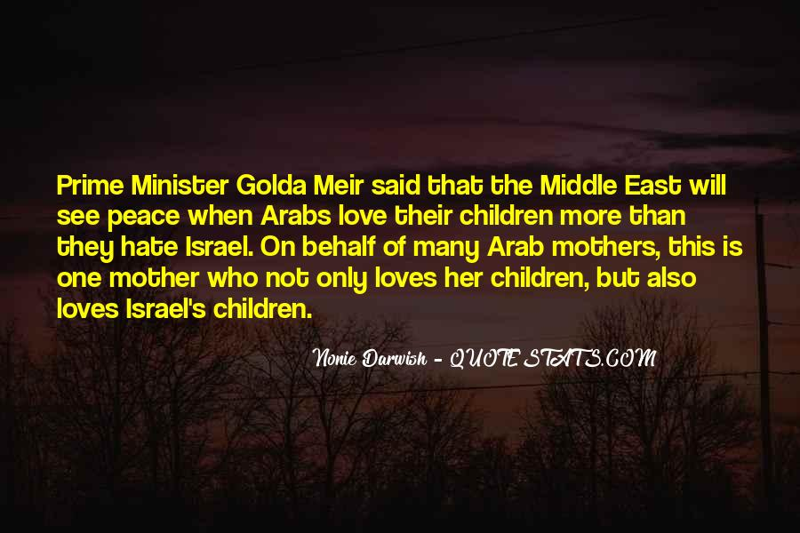 Hate Israel Quotes #713768