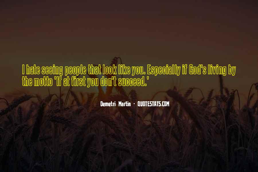 Hate Seeing You Quotes #288329