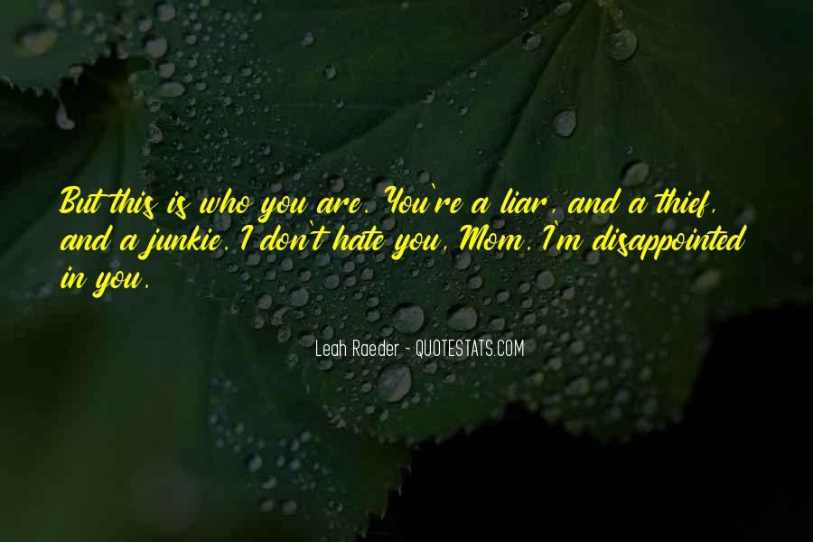 Hate You Liar Quotes #862333