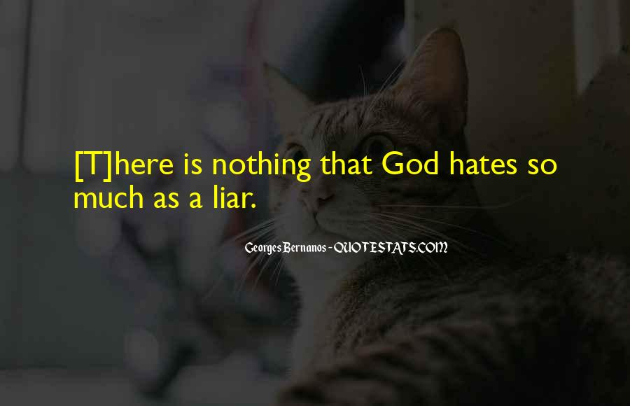 Hate You Liar Quotes #94569