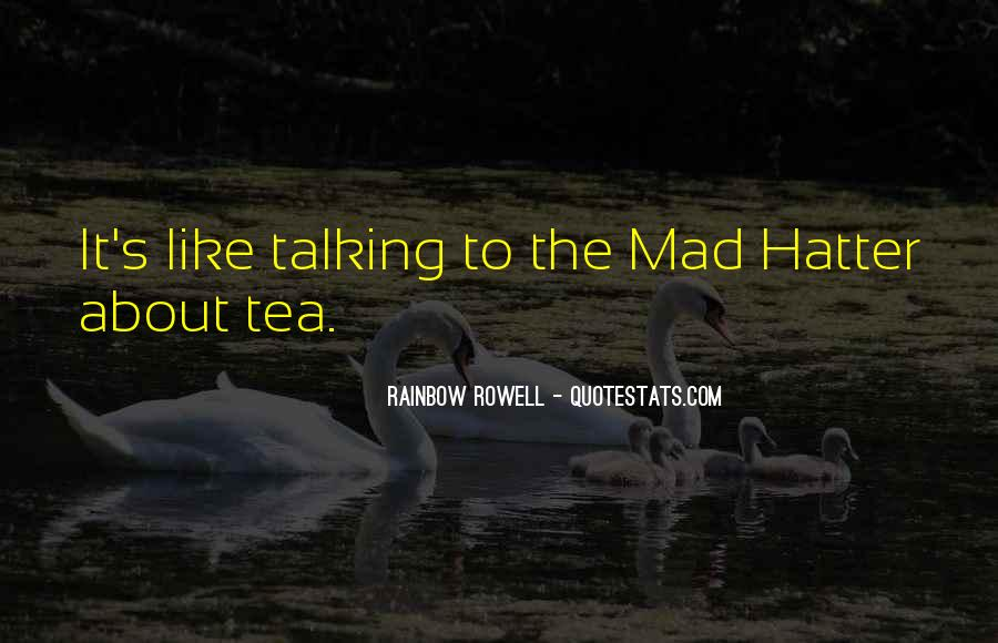 Hatter Quotes #1121725