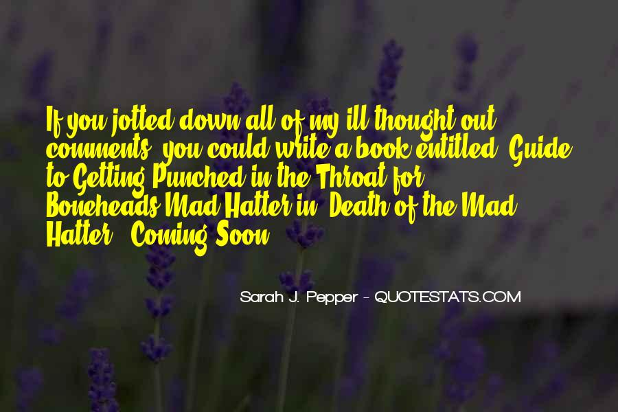 Hatter Quotes #1613705