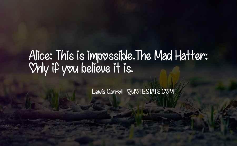 Hatter Quotes #1662682