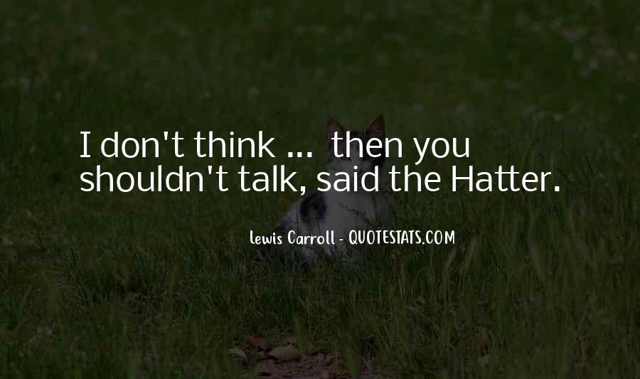 Hatter Quotes #1806720