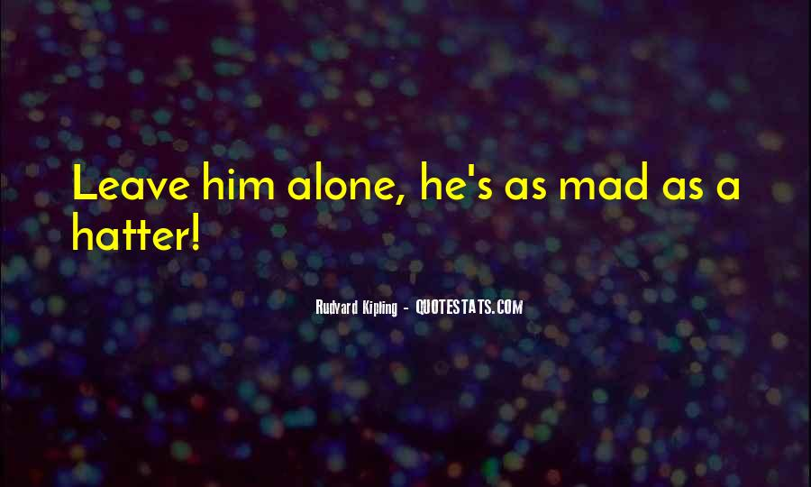 Hatter Quotes #309855