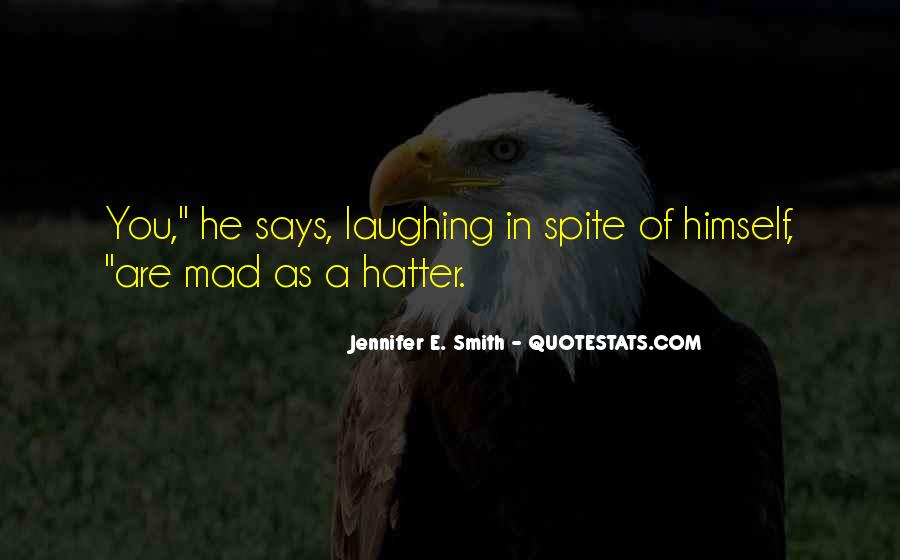 Hatter Quotes #51687