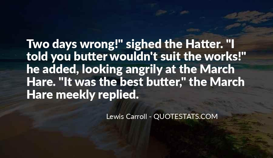 Hatter Quotes #622162