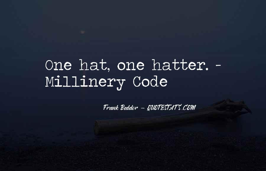 Hatter Quotes #667126