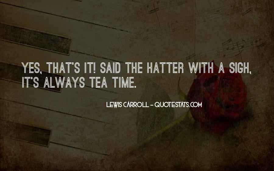 Hatter Quotes #709690