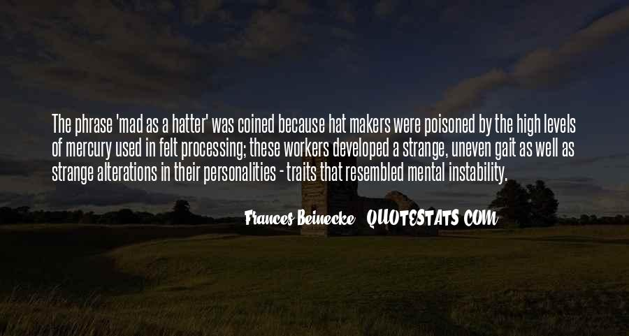Hatter Quotes #777286