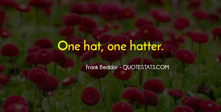 Hatter Quotes #832309