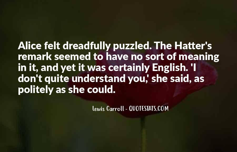 Hatter Quotes #963730