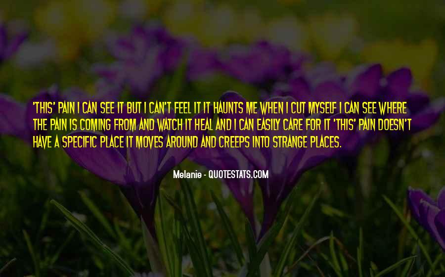 Haunts Quotes #1110479