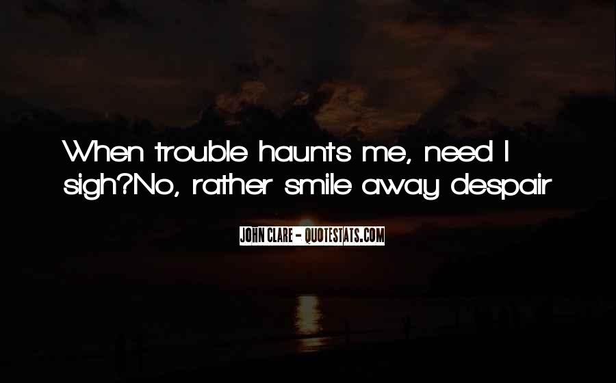 Haunts Quotes #112190