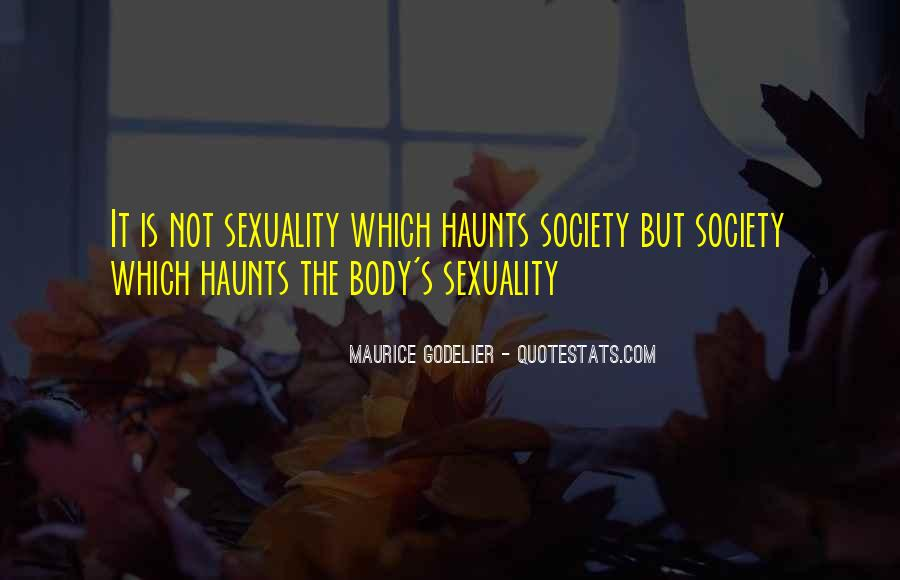 Haunts Quotes #28857