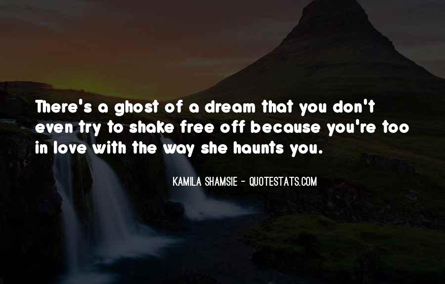 Haunts Quotes #598970