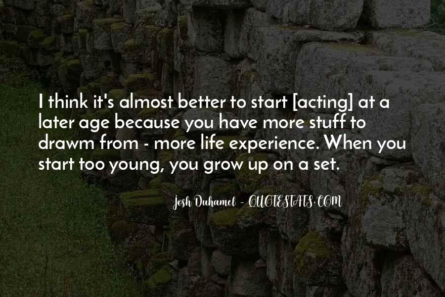 Have A Better Life Quotes #86622