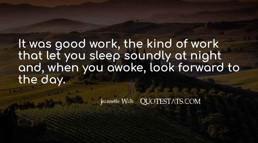 Have A Good Day At Work Quotes #48759
