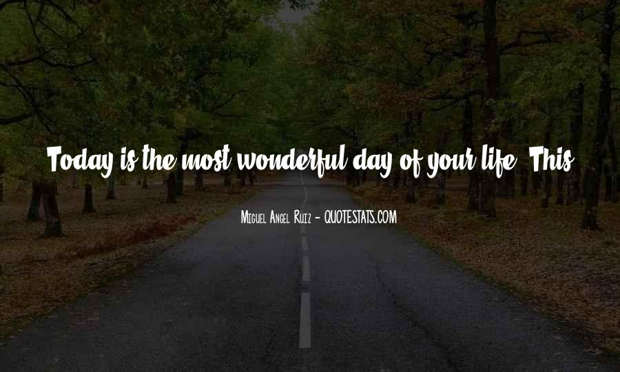 Have A Wonderful Day Love Quotes #822498