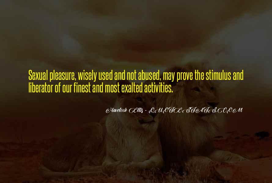 Havelock Quotes #1418966